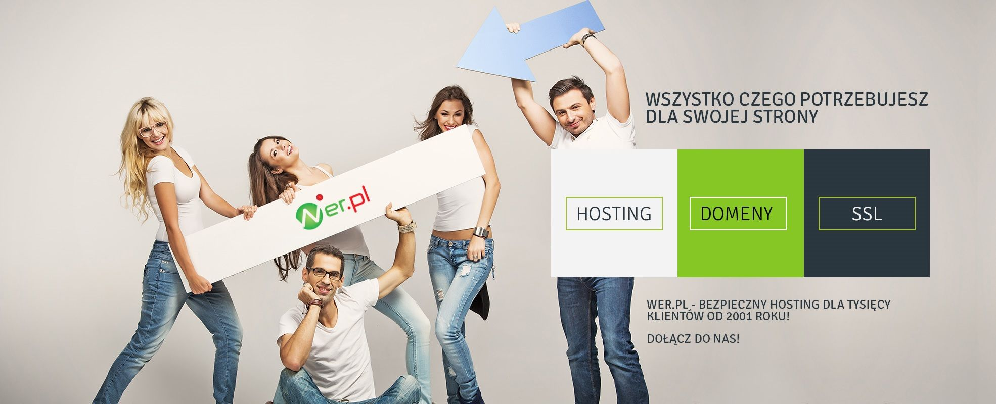 Hosting, Domeny, SSL