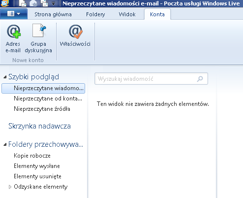 Poczta Windows Live